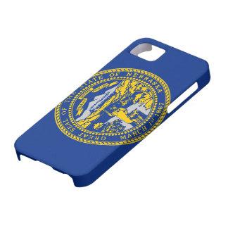 Bandera de Nebraska iPhone 5 Cárcasas