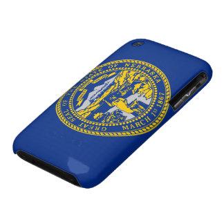 Bandera de Nebraska iPhone 3 Case-Mate Carcasas
