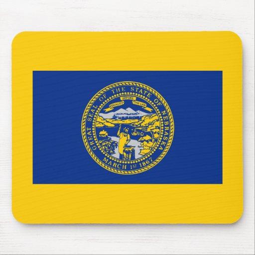 Bandera de Nebraska Tapete De Raton