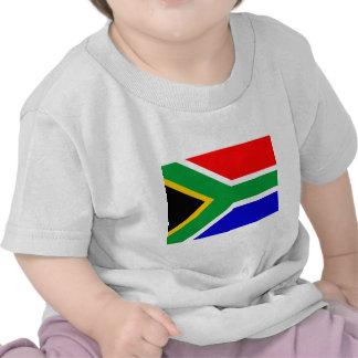 Bandera de Nelson Mandela Suráfrica Camisetas