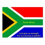 Bandera de Nelson Mandela Suráfrica Postal