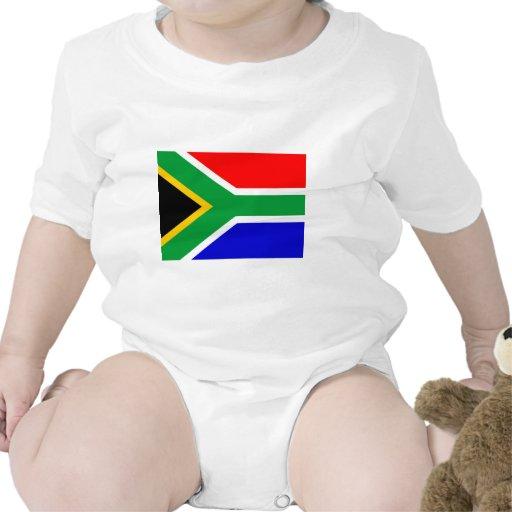 Bandera de Nelson Mandela Suráfrica Traje De Bebé