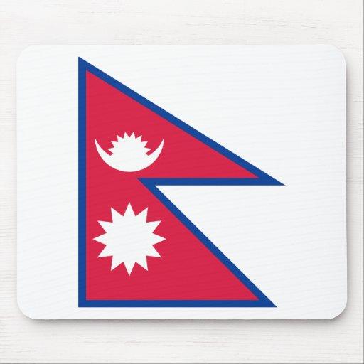 Bandera de Nepal Alfombrilla De Raton