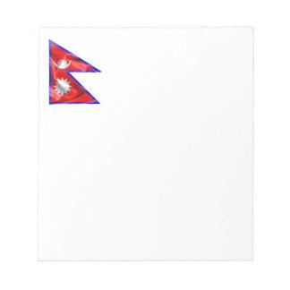 Bandera de Nepal Blocs De Papel