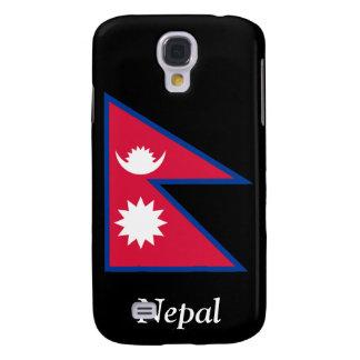 Bandera de Nepal Funda Para Galaxy S4