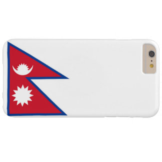 Bandera de Nepal Funda Para iPhone 6 Plus Barely There
