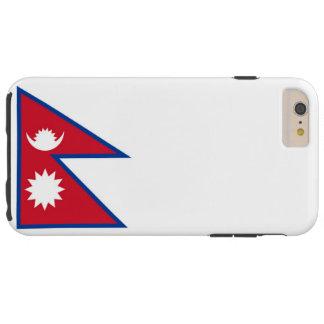 Bandera de Nepal Funda Para iPhone 6 Plus Tough
