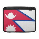 Bandera de Nepal Fundas MacBook