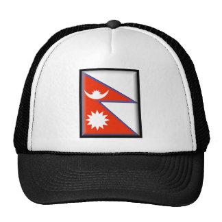 Bandera de Nepal Gorro