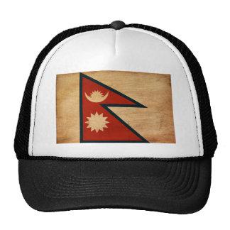 Bandera de Nepal Gorros Bordados