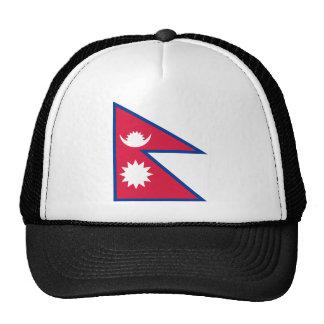 Bandera de Nepal Gorro De Camionero