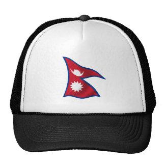 Bandera de Nepal Gorras De Camionero