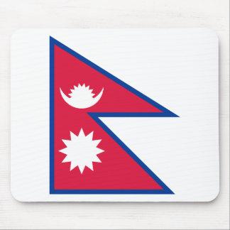 Bandera de Nepal Mouse Pad