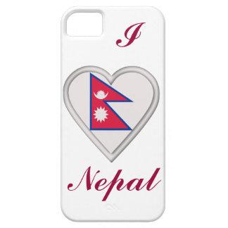 Bandera de Nepal nepalés iPhone 5 Funda