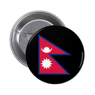 Bandera de Nepal Pin