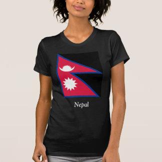 Bandera de Nepal Camisetas