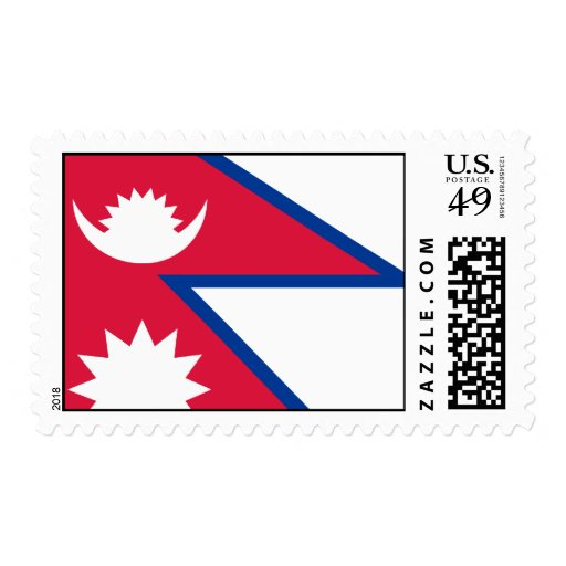 Bandera de Nepal Sello