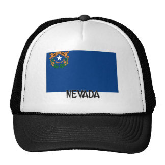 Bandera de Nevada Gorras De Camionero