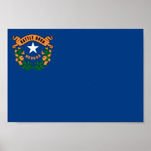 Bandera de Nevada Impresiones