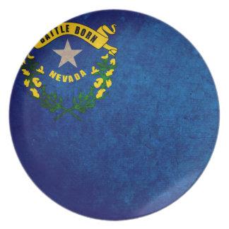 Bandera de Nevadan; Platos