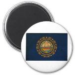 Bandera de New Hampshire Imanes