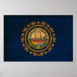 Bandera de New Hampshire Impresiones