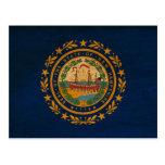 Bandera de New Hampshire Postales
