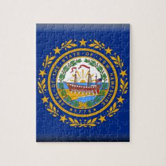 Bandera de New Hampshire Rompecabezas Con Fotos