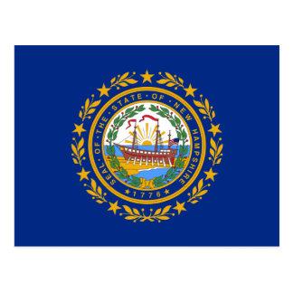 Bandera de New Hampshire Tarjetas Postales