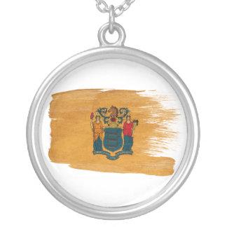 Bandera de New Jersey Colgante Redondo