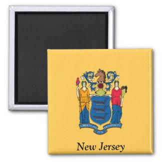 Bandera de New Jersey Imanes Para Frigoríficos