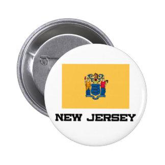 Bandera de New Jersey Pins