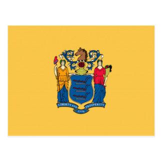 Bandera de New Jersey Postales
