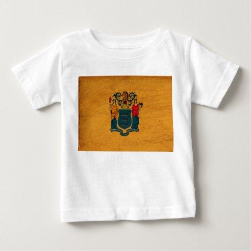 Bandera de New Jersey Tshirts