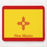 Bandera de New México Alfombrilla De Ratones
