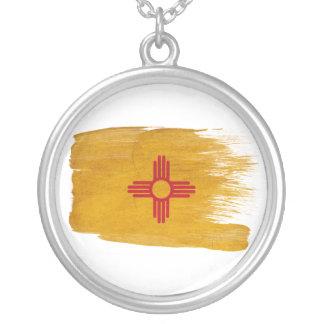 Bandera de New México Colgante Redondo