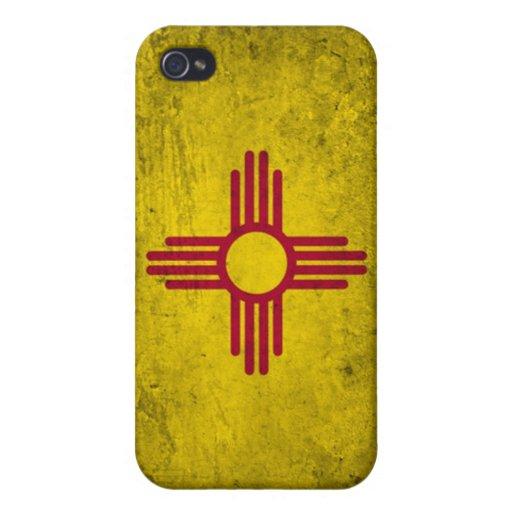 bandera de New México del caso del iPhone 4 iPhone 4 Protector