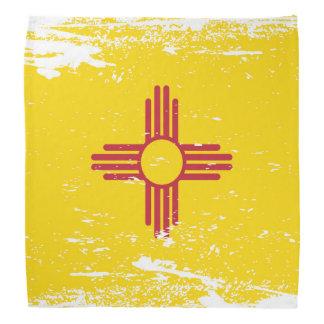Bandera de New México del Grunge Bandanas