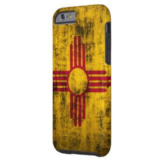 Bandera de New México del Grunge Funda De iPhone 6 Tough