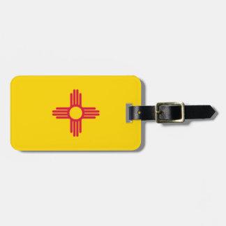 Bandera de New México Etiquetas Para Maletas
