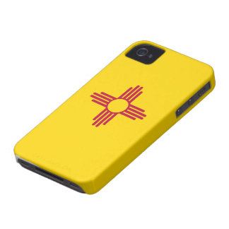 Bandera de New México Case-Mate iPhone 4 Funda