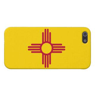 Bandera de New México iPhone 5 Fundas