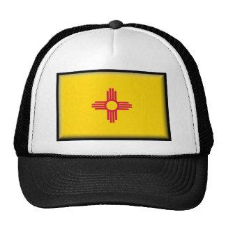 Bandera de New México Gorros Bordados