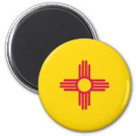 Bandera de New México Imán De Frigorifico