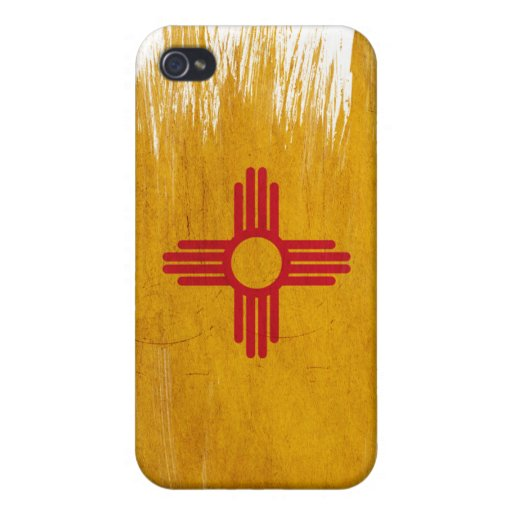 Bandera de New México iPhone 4 Funda