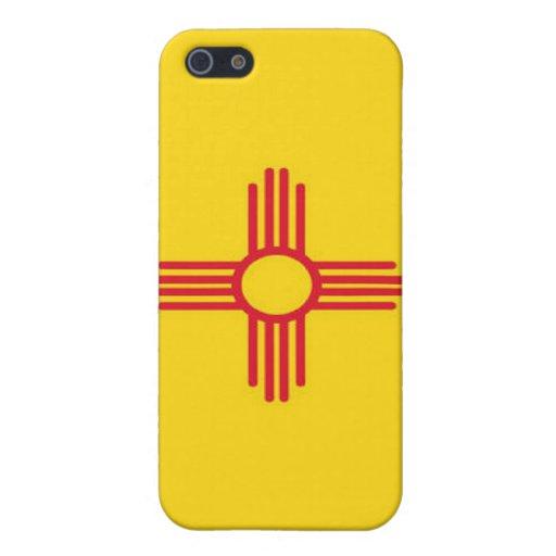 Bandera de New México iPhone 5 Protectores