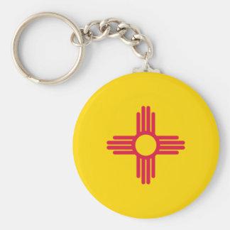 Bandera de New México Llaveros Personalizados