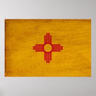 Bandera de New México Posters