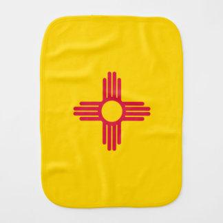 Bandera de New México Paños Para Bebé