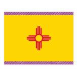 Bandera de New México Postal
